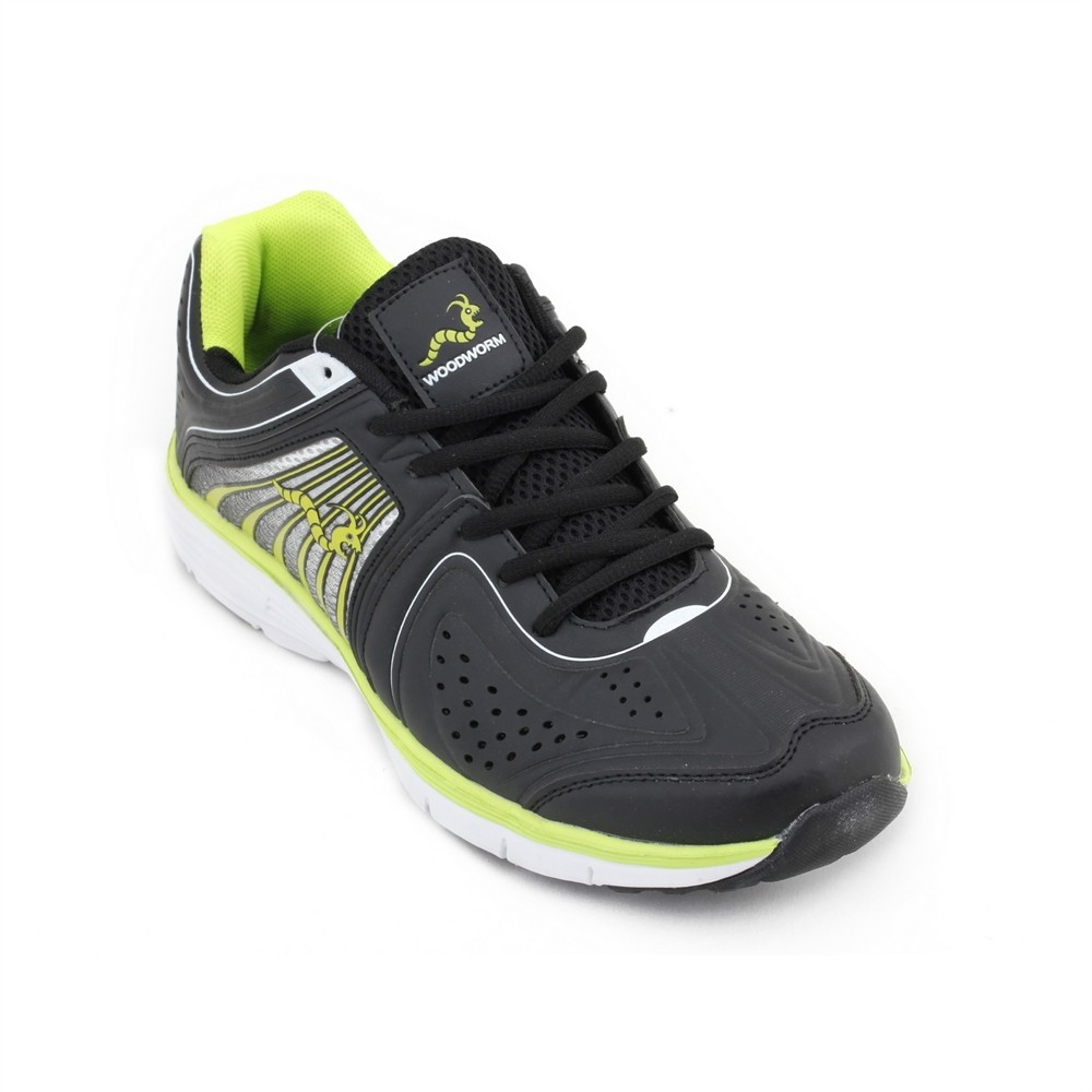Woodworm Flame Mens Running Shoes / Trainers - Fluvo