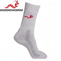 Woodworm Pro Deluxe Cricket Socks - 2 Pairs Size 39-42