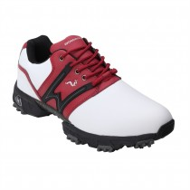 Woodworm Tour V2.0 Golf Shoes - White / Red