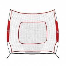 Woodworm Baseball and Softball 2.2m x 2.2m Practice Net - Quick Set up with Carrying Case