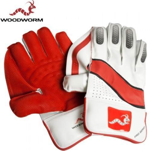 Woodworm Cricket Pro Series Wicket Keeping Gloves Right Hand