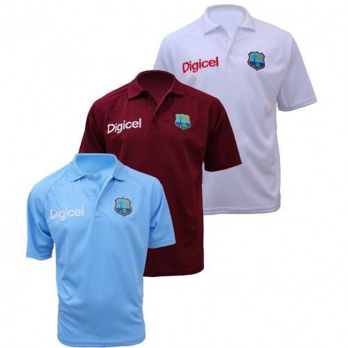 West Indies Replica Polo Shirt