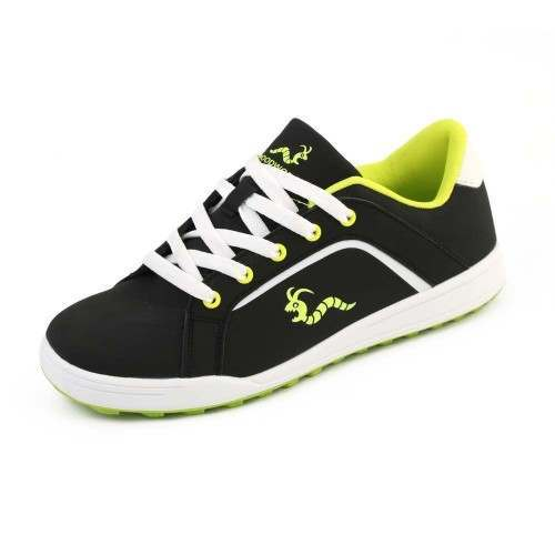 Woodworm Golf Surge V3 Mens Golf Shoes Black/Neon