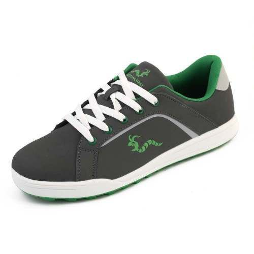 Woodworm Golf Surge V3 Mens Golf Shoes Grey/Green